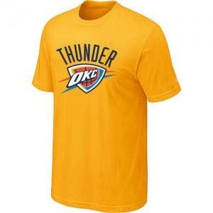 Oklahoma City Thunder Big & Tall Jaune T-Shirt d'équipe de NBA achats en ligne - pour Homme