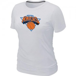 T-Shirt NBA New York Knicks Blanc Big & Tall - Femme