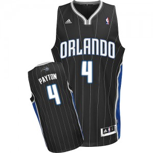 Maillot NBA Noir Elfrid Payton #4 Orlando Magic Alternate Swingman Homme Adidas