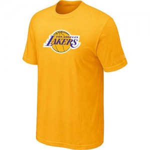T-Shirt NBA Los Angeles Lakers Big & Tall Jaune - Homme