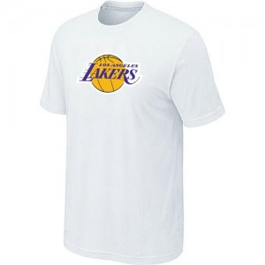 T-shirt principal de logo Los Angeles Lakers NBA Big & Tall Blanc - Homme