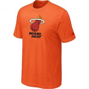 Miami Heat Big & Tall Orange T-Shirt d'équipe de NBA en ligne pas chers - pour Homme