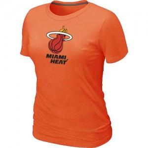 T-Shirt NBA Miami Heat Orange Big & Tall - Femme