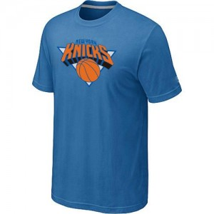 New York Knicks Big & Tall Bleu clair T-Shirt d'équipe de NBA Peu co?teux - pour Homme