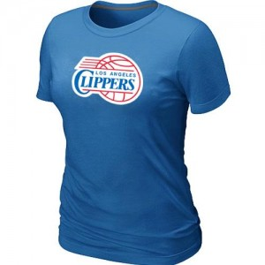 T-Shirt NBA Los Angeles Clippers Big & Tall Bleu clair - Femme