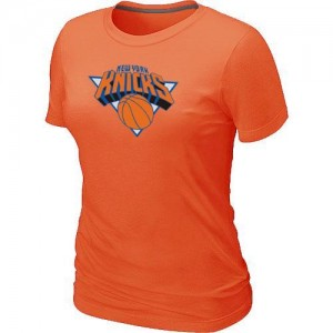 T-Shirt NBA New York Knicks Orange Big & Tall - Femme