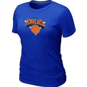 New York Knicks Big & Tall Bleu T-Shirt d'équipe de NBA Expédition rapide - pour Femme