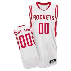 Houston Rockets Personnalisé Adidas Home Blanc Maillot d'équipe de NBA Magasin d'usine - Authentic pour Homme