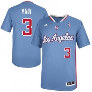 Maillot NBA Bleu royal Chris Paul #3 Los Angeles Clippers Pride Swingman Homme Adidas