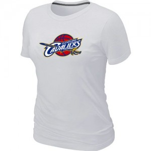 Cleveland Cavaliers Big & Tall T-Shirt d'équipe de NBA - Blanc pour Femme