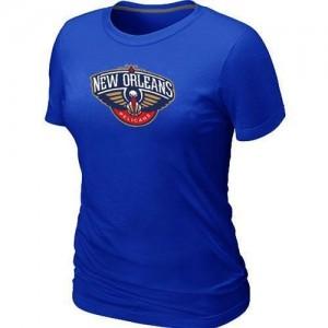 New Orleans Pelicans Big & Tall T-Shirt d'équipe de NBA - Bleu pour Femme