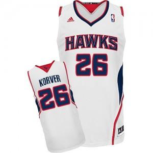 Maillot NBA Swingman Kyle Korver #26 Atlanta Hawks Home Blanc - Homme