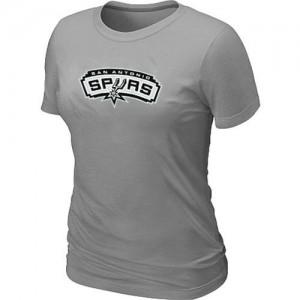San Antonio Spurs Big & Tall T-Shirt d'équipe de NBA - Gris pour Femme