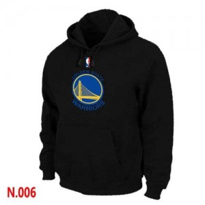 Pullover Sweat à capuche Golden State Warriors NBA Noir - Homme