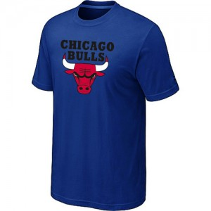 T-Shirt Bleu Big & Tall Chicago Bulls - Homme