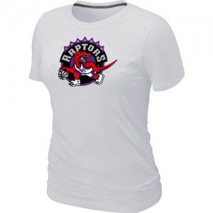 T-Shirt NBA Toronto Raptors Blanc Big & Tall - Femme