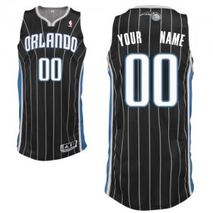 Maillot Orlando Magic NBA Alternate Noir - Personnalisé Authentic - Homme
