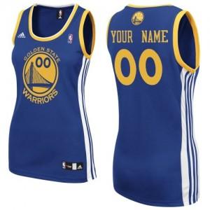 Golden State Warriors Swingman Personnalisé Road Maillot d'équipe de NBA - Bleu royal pour Femme