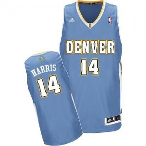 Denver Nuggets Gary Harris #14 Road Swingman Maillot d'équipe de NBA - Bleu clair pour Homme