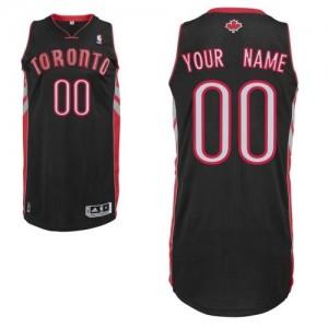 Maillot NBA Toronto Raptors Personnalisé Authentic Noir Adidas Alternate - Homme