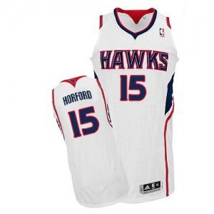 Maillot NBA Authentic Al Horford #15 Atlanta Hawks Home Blanc - Homme