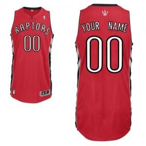 Maillot NBA Rouge Authentic Personnalisé Toronto Raptors Road Homme Adidas