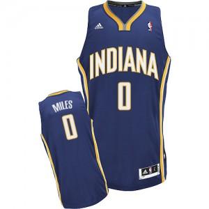 Maillot Adidas Bleu marin Road Swingman Indiana Pacers - C.J. Miles #0 - Homme