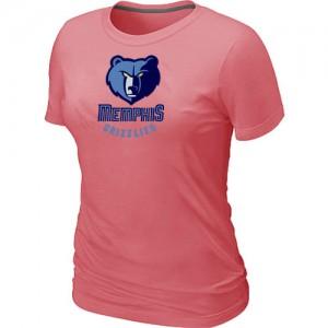 T-shirt principal de logo Memphis Grizzlies NBA Big & Tall Rose - Femme