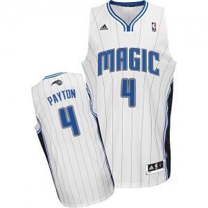 Orlando Magic #4 Adidas Home Blanc Swingman Maillot d'équipe de NBA prix d'usine en ligne - Elfrid Payton pour Homme
