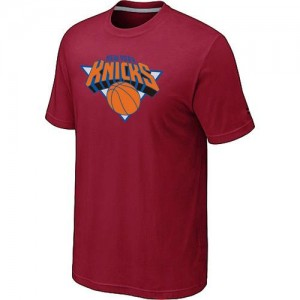T-Shirt Rouge Big & Tall New York Knicks - Homme