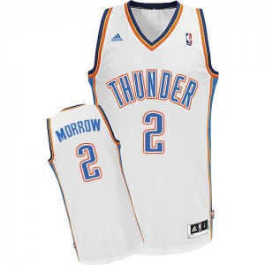 Maillot Swingman Oklahoma City Thunder NBA Home Blanc - #2 Anthony Morrow - Homme