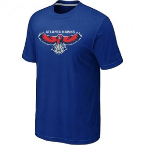 T-shirt principal de logo Atlanta Hawks NBA Big & Tall Bleu - Homme