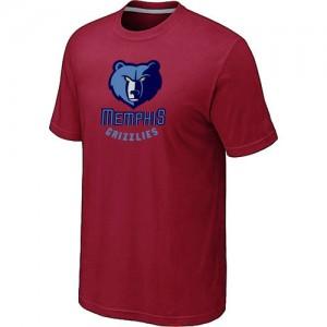 T-Shirt Rouge Big & Tall Memphis Grizzlies - Homme