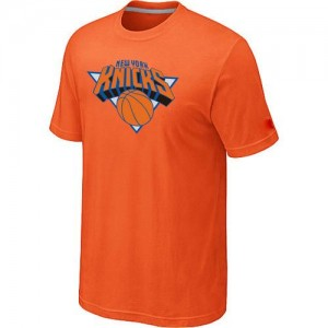 T-shirt principal de logo New York Knicks NBA Big & Tall Orange - Homme