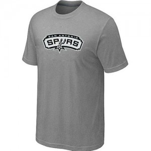T-Shirt NBA Gris San Antonio Spurs Big & Tall Homme