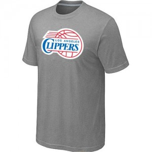 T-shirt principal de logo Los Angeles Clippers NBA Big & Tall Gris - Homme