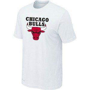 T-Shirt NBA Blanc Chicago Bulls Big & Tall Homme
