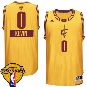 Maillot NBA Swingman Kevin Love #0 Cleveland Cavaliers 2014-15 Christmas Day 2015 The Finals Patch Or - Enfants