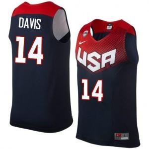 Team USA #14 Nike 2014 Dream Team Bleu marin Swingman Maillot d'équipe de NBA prix d'usine en ligne - Anthony Davis pour Homme