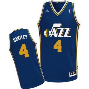 Utah Jazz #4 Adidas Road Bleu marin Swingman Maillot d'équipe de NBA en vente en ligne - Adrian Dantley pour Homme
