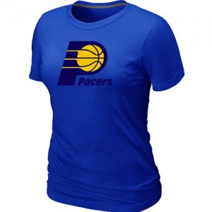 T-shirt principal de logo Indiana Pacers NBA Big & Tall Bleu - Femme