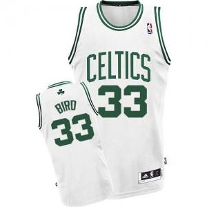 Maillot Swingman Boston Celtics NBA Home Blanc - #33 Larry Bird - Enfants