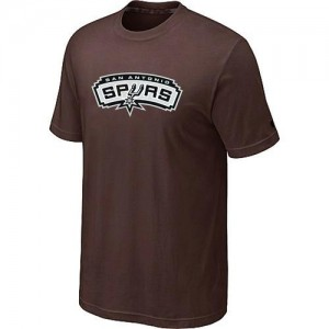 T-Shirt marron Big & Tall San Antonio Spurs - Homme
