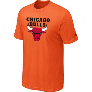 Chicago Bulls Big & Tall T-Shirt d'équipe de NBA - Orange pour Homme