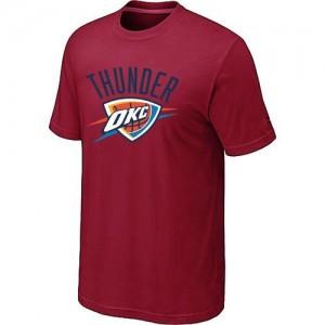T-Shirt NBA Rouge Oklahoma City Thunder Big & Tall Homme
