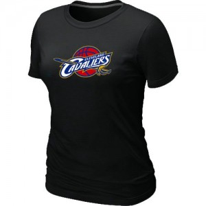 Cleveland Cavaliers Big & Tall Noir T-Shirt d'équipe de NBA pas cher - pour Femme