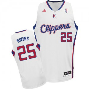 Maillot NBA Swingman Austin Rivers #25 Los Angeles Clippers Home Blanc - Homme