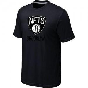 Brooklyn Nets Big & Tall T-Shirt d'équipe de NBA - Noir pour Homme