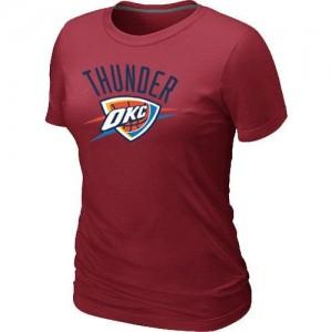 Oklahoma City Thunder Big & Tall T-Shirt d'équipe de NBA - Rouge pour Femme