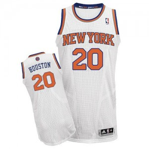 Maillot Adidas Blanc Home Authentic New York Knicks - Allan Houston #20 - Homme